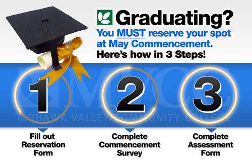 Image: Graduating? you MUST reserve your spot at May Commencement. Heres how in 3 Steps